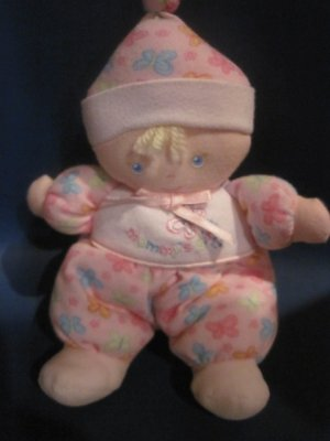 Mommy's Girl Plush Doll with Butterfly Pajamas & Hat Made by Baby a Division of Carter's