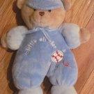 Carters Just One Year Plush Little All Star Blue Baseball Bear