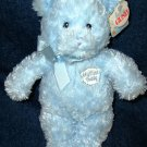 Gund My First Teddy Bear Plush Baby Toy Blue #58615
