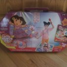 Bella Dancerella Dora the Explorer Dance Along Musical Adventure Mat Maracas Costume Dvd CD