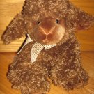 "Russ Berrie 13"" Dark Brown Lamb Sheep Named Lambert #27335"