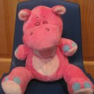 2008 Luv n' Care Tickle Toes Pink Laughing Hippo Giggles