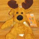 Walmart Kellytoy Golden Brown Plush Moose Deer Kelly Toy