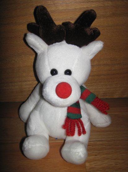 2000 Friendzies Target Plush Reindeer Moose Rednose Red