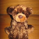 Aurora Brown Teddy Bear 8 Inches Long Laying Position