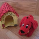 Clifford the Big Red Dog Plush Puppy with Dog House