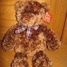 Gund Plush 13 Inch Brown Teddy Bear Named Muffles 2482