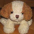 Best Made Toys Plush Curly Brown & Beige Cream Puppy Dog Sitting Position