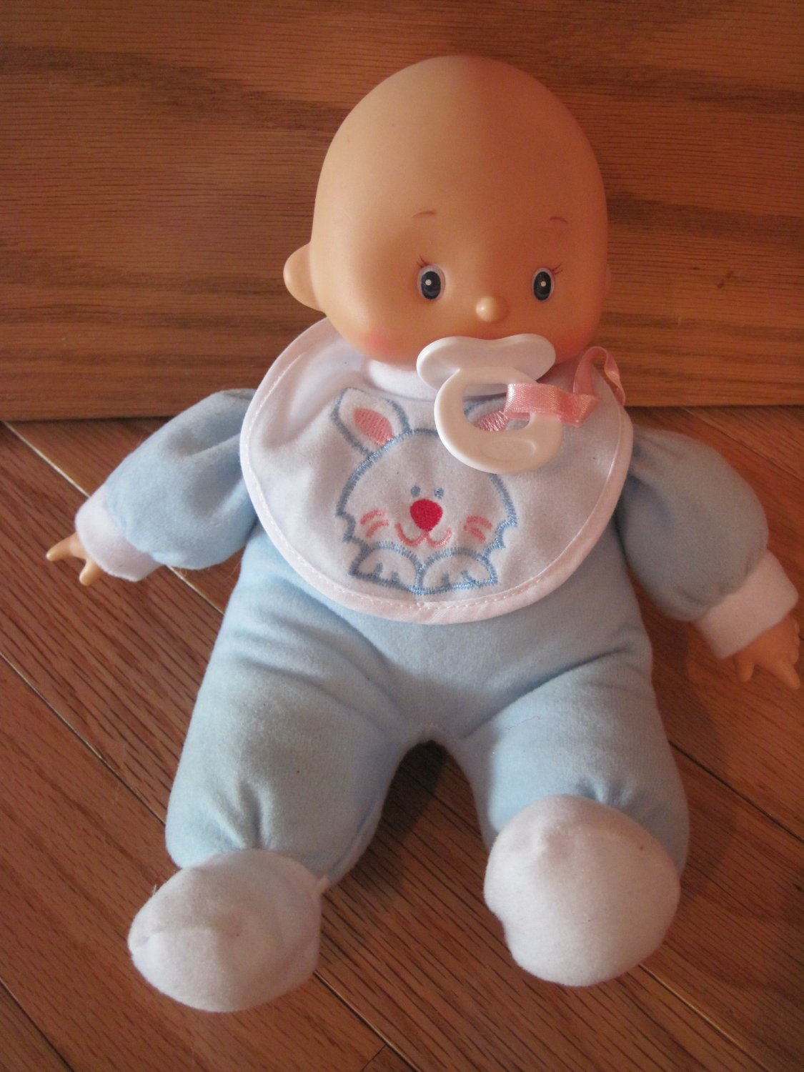 Hong King Cititoy Plush Baby Doll Blue Outfit Pajamas