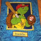 "Franklin the Turtle Plush Luxe 50"" X 60"" Throw Kids Blanket By Paulette Bourgeois Bedding"