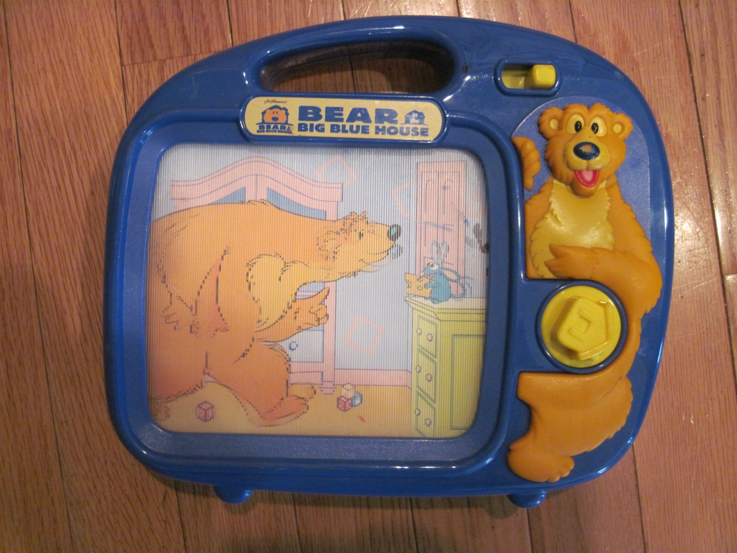 Bear in the big blue house wind up musical storybook by for House music tv