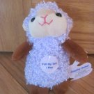 Lucky Star Plush Lavender Purple Brown Lamb Sheep Vibrating Hopping Toy