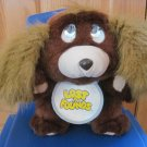 Vintage Lost N' Founds Brown Puppy Dog Cries Crying Tears Has Bib No Bottle 1989 Lewis Galoob
