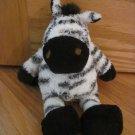 Manhattan Toy Company Plush Black & White 10 Inch Zebra