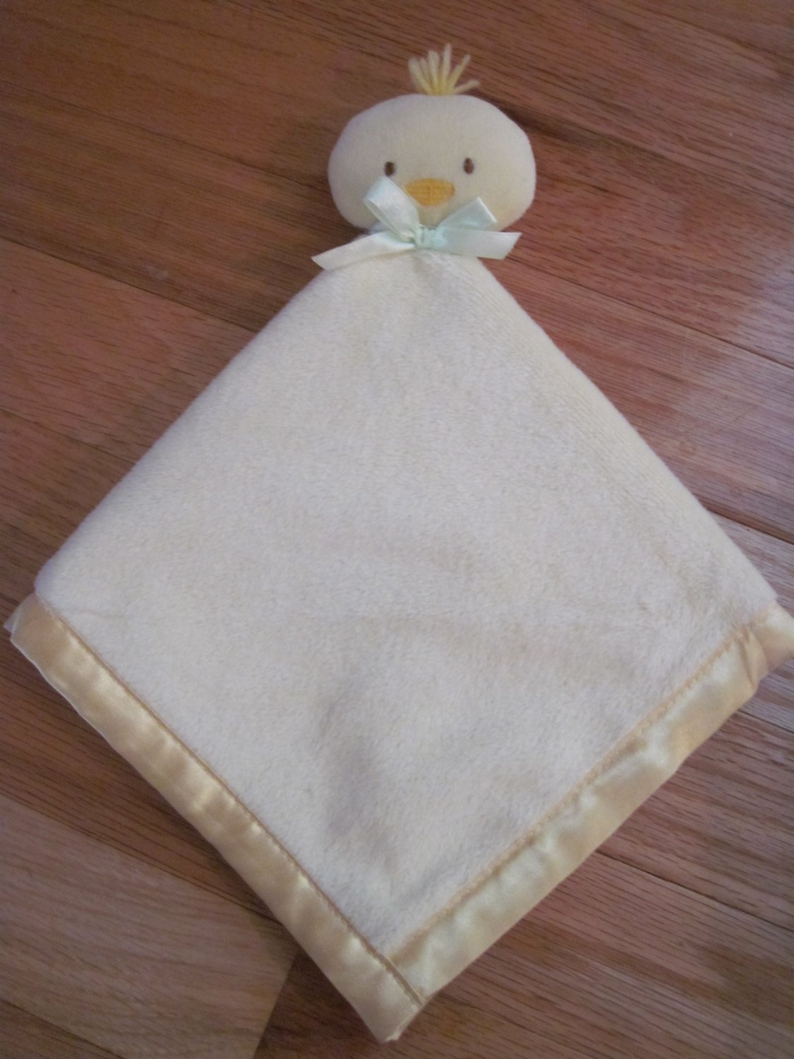 Baby Essentials Plush Yellow Duck Chick Security Blanket