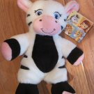 Garanimals Black & White Plush Zebra Pink Ears, Nose & Feet  82497