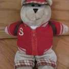 Starbucks 33rd Edition Bearista Bear Collection 2004 Back to School Boy Teddy Bear