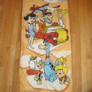 Vintage 1975 The Flintstones Hanna Barbera Cartoon Sleeping Bag Camping