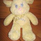 Royal Plush Cream Yellow Lamb Sheep Baby Toy Blue Eyes Pink Mouth