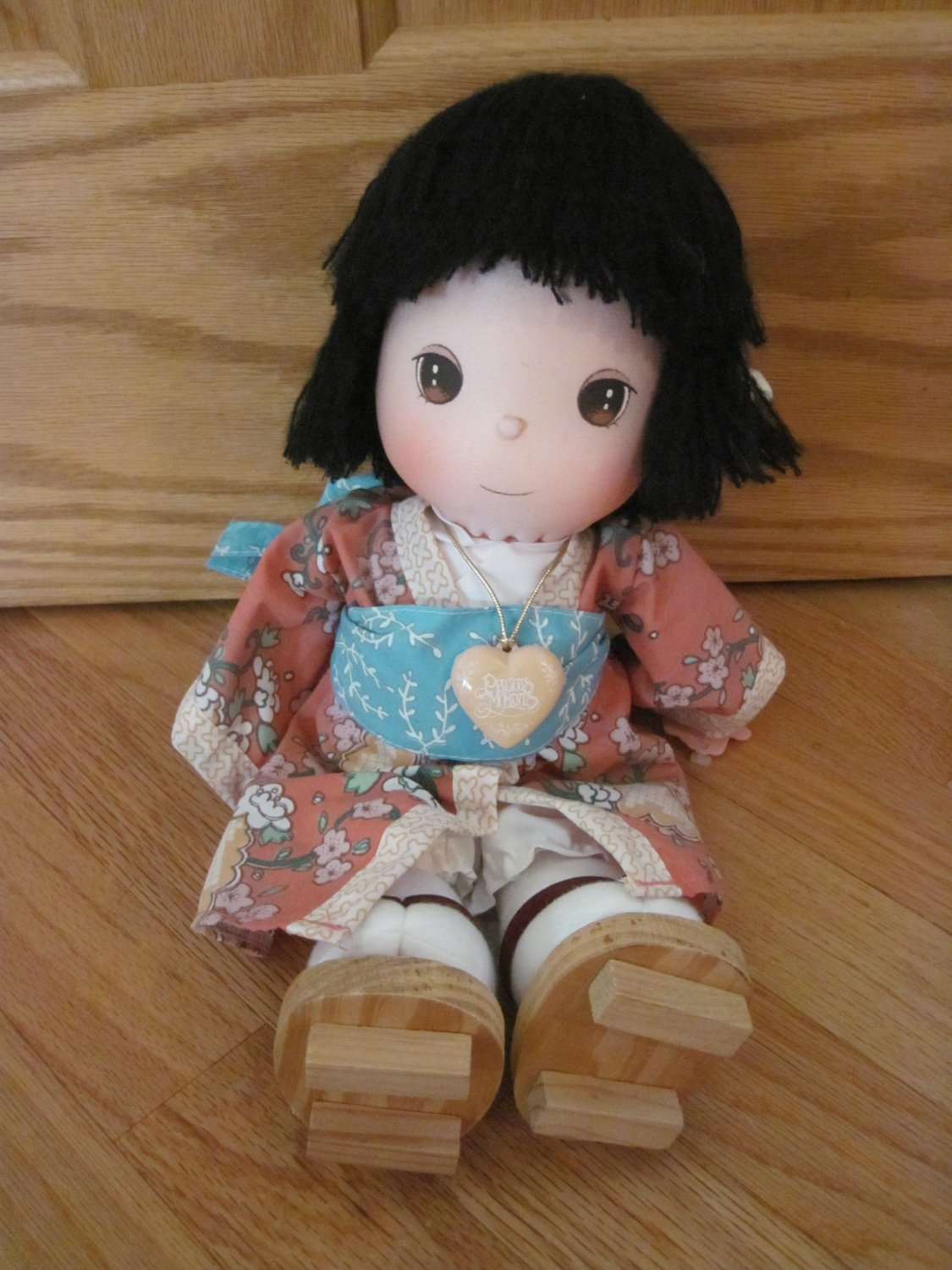 Vintage 1987 Precious Moments Oriental Dolls Of The World