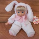 Walmart Hong Kong City Toys Cititoy Plush Bunny Rabbit Bean Bag Doll Pink Gingham Plaid Ribbon