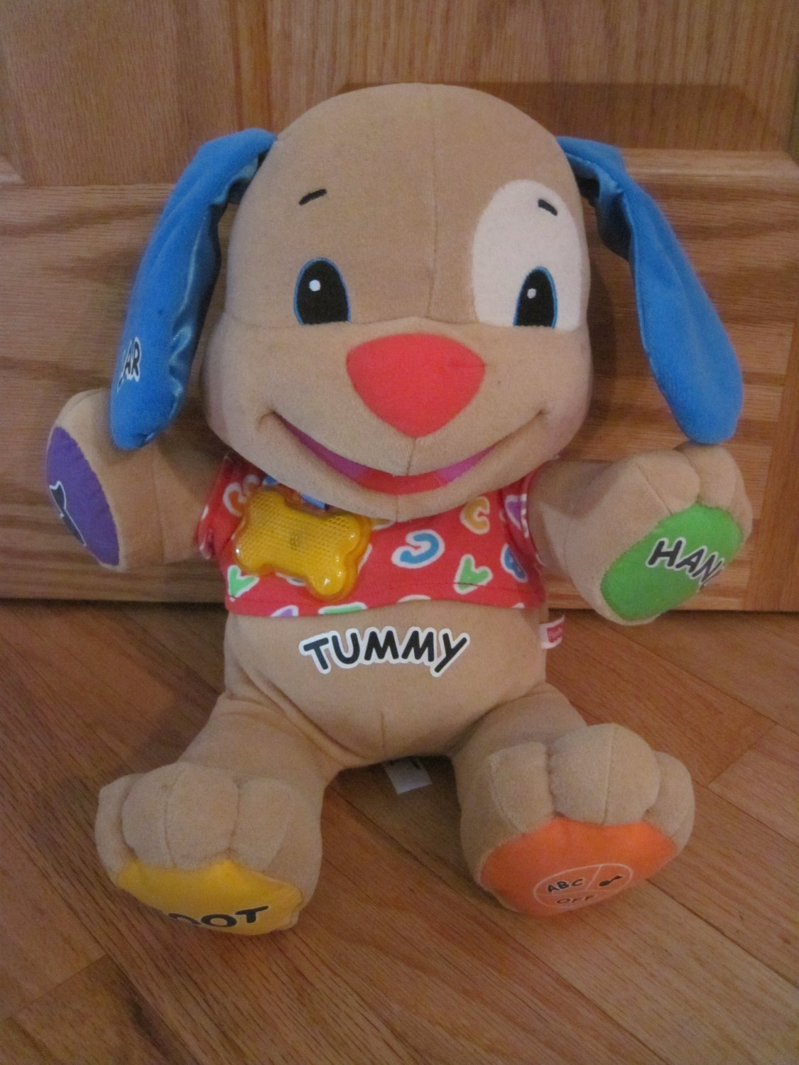 Fisher Price Laugh And Learn Learning Puppy Colorful