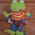 Tolo Toys Mr Croak Babies Activity Frog Toy Numbers Sailor Mirror Flower Stripes Dots Dragonfly