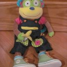 Alex Soft Toy Learn To Dress Monkey with 11 Dressing Activities Strap Button Zip Tie Buckle