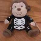 Carters Just one You Plush Brown Monkey With Skeleton Halloween Costume 93106