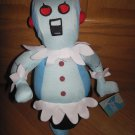 "Toy Factory The Jetsons ""Rosie"" The Robot 14"" Plush Maid Outfit Red Eyes Black Sewn In Mouth"