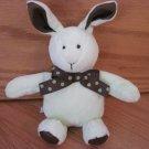 Mary Meyer Green & Brown Satin Bunny Rabbit Polka Dot Ribbon 6136