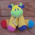 Lamaze Bright & Colorful Little Stars Musical Cow Tunes Developmental Toy Vanilla Scent