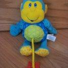 Lamaze Little Stars Blue Plush Monkey Activity Star Teether Sensory Toy FLAW