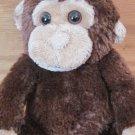 Koala Baby Plush Brown Tan Beige Monkey Rattle 1415233