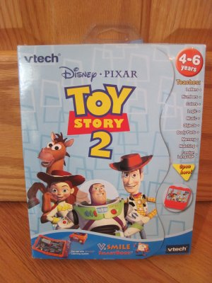 Vtech Vsmile Toy Story 2 SmartBook  Smartridge V.Smile TV Learning Educational System Toy