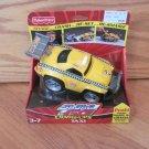 Fisher Price Shake 'N Go Crash-Ups Taxi Shake & Go Car Race Track Toy
