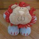 Baby Gund Woodles Rumba Tan Blue Red Plush Lion 58546