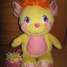 2007 Pop & Giggle Talking Laughing Yellow Plush Potato Chip Popple Toy