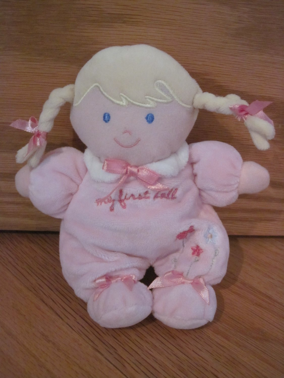 Carters Child Of Mine My First Doll Blond Braids Flowers