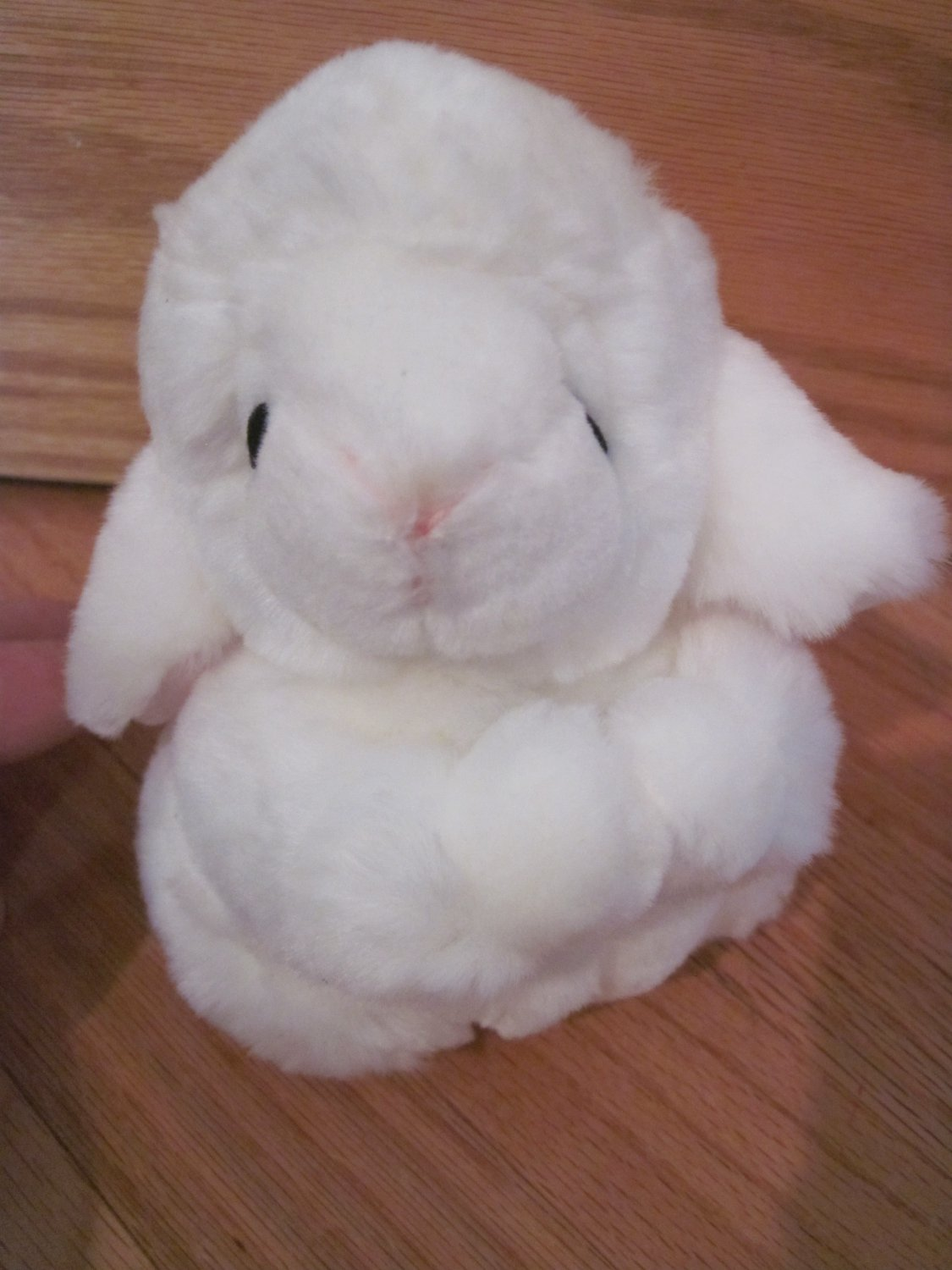 Russ Berrie White Plush Praying Kneeling Faith Lamb Sheep 4125