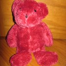Its all Greek to Me Plush Pink Magenta Chenille Teddy Bear 62960