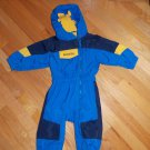 Columbia Sportswear Company Tectonite  Blue Black Yellow One Piece Snowsuit  Ski 2T Toddler Boys