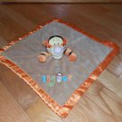 Disney Tan & Orange Winnie the Pooh Tigger Security Blanket Lovey