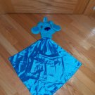 Blue's Clues 2001 Security Blanket Puppet Pocket Hanger Lovey