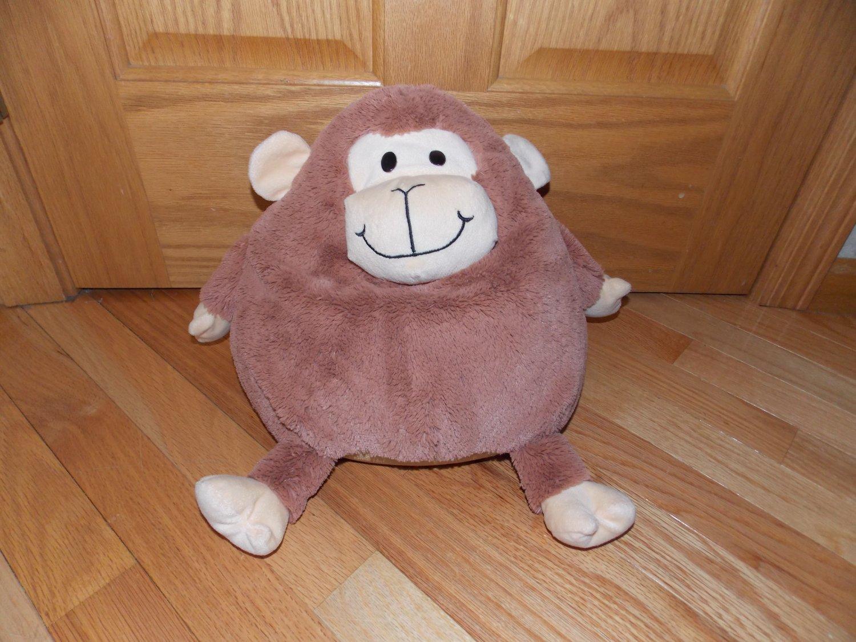 Jay At Play Moshi Mushable Pot Belly Plush Brown Microbead