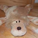Jay At Play Golden Brown Plush Microbead Lion Moshi Pillow Toy
