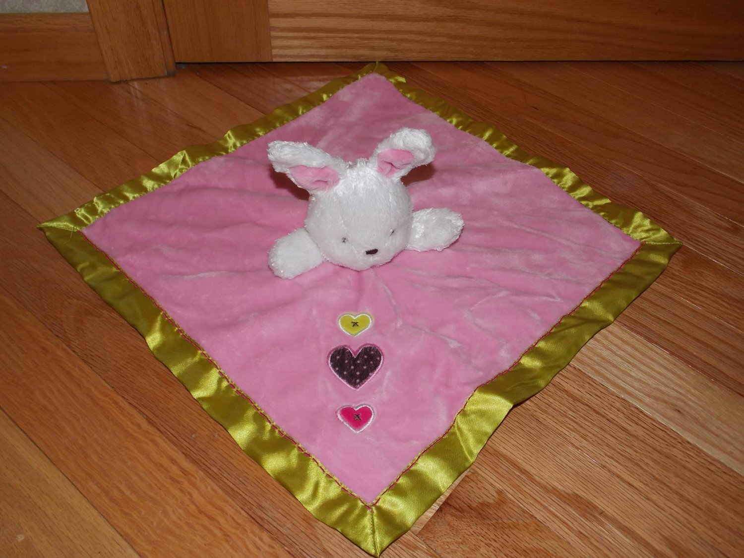 Carters Just One You Bunny Rabbit Security Blanket Baby