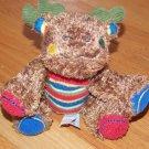 Mary Meyer Lil Moose Mossy Cheery Cheeks Brown Stripes Stuffed Animal