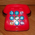 Blues Clues 1999 Mattel Red Talking Light Up Telephone Phone Steve Magenta Mailbox