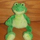 Princess Soft Toys 2009 Plush Green Frog 1650